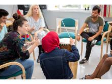 Musikkterapi på asylmottak