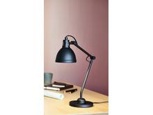 Bordlampe PATRIK sort miljø (169,-)