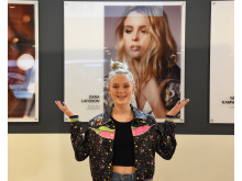 Zara Larsson på Arlanda
