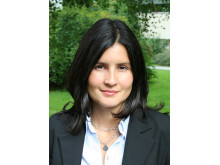 Carla Jonsson vid Centrum för tvåspråkighetsforskning