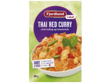 Fjordland i skål Thai Red Curry