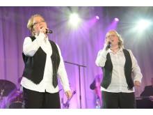Veronica och Sari från Degerfors på andra plats i Väsby Melodifestival 2013