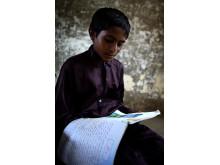 Pakistan ett år efter katastrofen: 10-åriga Javed