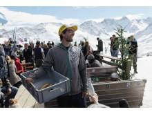 Mirko Schadegg von der Sit-Huette in Arosa © Schweiz Tourismus / Maurin Bisig