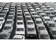 Volvofabriken i Torslanda 1976-78
