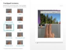 Fingerstyrning - MindManager 8 för Mac