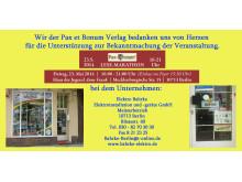 Wir der Pax et Bonum Verlag bedanken uns von Herzen bei Elektro Bahrke für die Unterstützung zur Bekanntmachung der Veranstaltung.