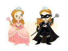 Den svartkledde prinsessen