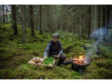 Titti Qvarnström i Asas skogar
