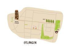 Joggingroute Erlangen - Grafik AccorHotels