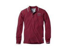Musto Long Sleeve Polo Redwine