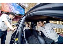 Hyundai utvecklar framtidens ljudsystem för bilar - Separated Sound Zone.