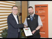 Lifesaver recognition event