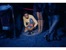 Donald Glover som Earn Marks i Atlanta. Säsongspremiär på FOX fredag den 6/4 kl 22.50.