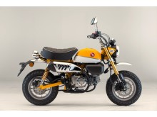 Honda Monkey Banana Yellow-Ross White – Side