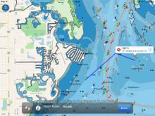 NavLink US navigation display