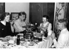 Julen 1953 i familjen Anderssons hem på Adelgatan 1 i Lund.