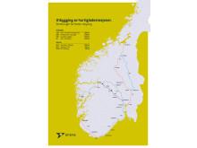 Utbygging av ladestasjoner – strekninger for første utlysing