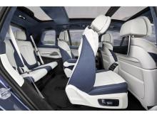 Ensimmäinen BMW X7_istuinrivit