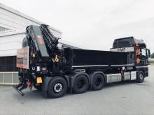 MAN TGX 35-500 med langt plan og stor bakmontert kran er svaret på et ønske om både høy nyttelast og kran med stor kapasitet og rekkevidde.