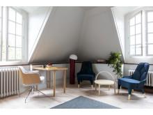 Gärsnäs apartment at the Swedish institute in Paris, photo by: Raphaël Dautigny.