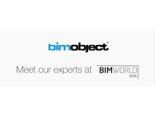 Meet BIMobject at BIM World 2016 in Paris, April 6th – 7th, 2016