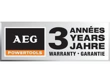 AEG 3 års garanti logo