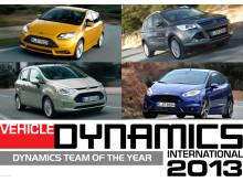 Ford vant internasjonale priser for dynamiske egenskaper