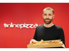 Daniel Strömberg, vd OnlinePizza