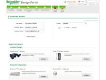 Design Portal til datacentre