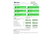 Performance rapport