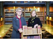 Gunilla Herdenberg och Kathrin Flossing