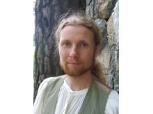 Sagoberättaren och symbolpedagogen Henrik Hallgren, initiativtagare till nätverket Lodyn.