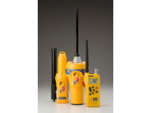 Hi-res image - Ocean Signal - Ocean Signal SafeSea range, the S100 SART, E100G EPIRB and V100 VHF radio