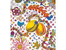 Textile print Brazil by Josef Frank