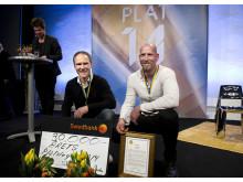 Årets plåtslagare 2014 - Michael Swedberg och Mikael Larsson