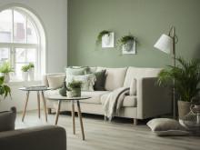 Stressless E400 grønn stue