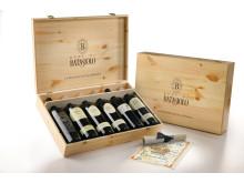 Fantastiskt lyxig present och julklapp! Barolo Collection Case från Batasiolo (6 fl, pris 3 294 kr, nr 73390)