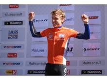 Norges cup 4 rye terrengsykkelfestival laksetrøye M-junior