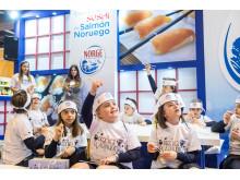 Escuela Sushi Salmón Noruego