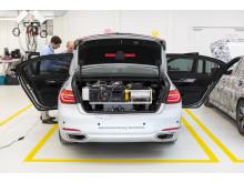 BMW Autonomous Driving Campus - testbil