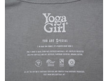 Yoga Girl neckprint Special grey