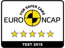 Euro NCAP logo 5 stjerner