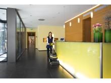Kärcher gulvvaskemaskin BR 35/12 C - Hotellresepsjon