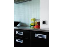 LK FUGA Hardline Deco i køkken, sort