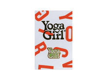 Yoga Girl green logo on card