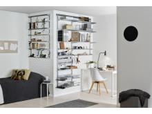 Elfa Utility och Classic-inredning för hemmakontoret