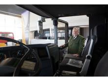Den visionære legende og sin bus: Konrad Auwärter troede på sit koncept og udviklede I 1967 verdens første dobbeltdækker bus: NEOPLAN Skyliner.