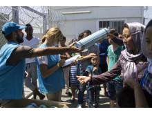 Hjälp når fram på Lesbos