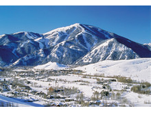 Bald Mountain im Winter, Sun Valley